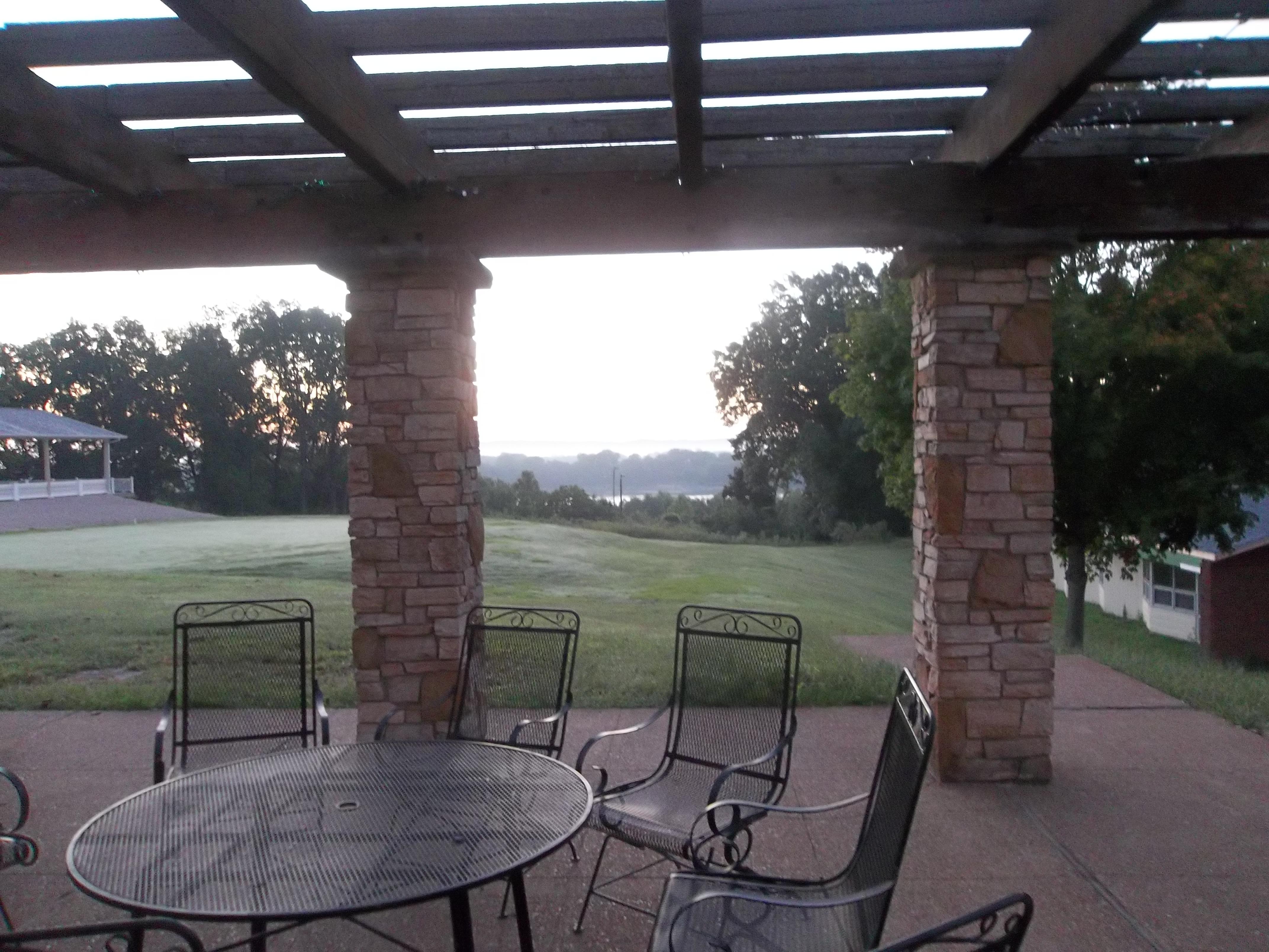 scenic patio dining